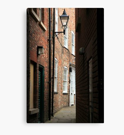 A Ginnel Canvas Print