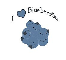 I  heart Blueberries by Eggtooth