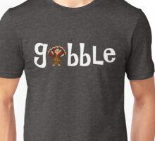 Gobble Cute Thanksgiving Turkey Unisex T-Shirt