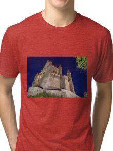 Bouzov Castle Tri-blend T-Shirt