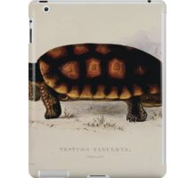 Tortoises terrapins and turtles drawn from life by James de Carle Sowerby and Edward Lear 001 iPad Case/Skin
