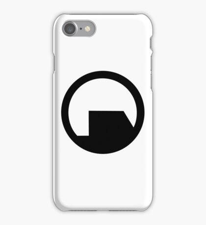 Black Mesa Logo - Half life iPhone Case/Skin