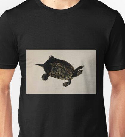 Tortoises terrapins and turtles drawn from life by James de Carle Sowerby and Edward Lear 043 Unisex T-Shirt