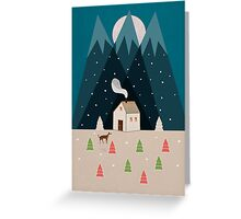 Winterworm Greeting Card