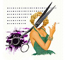 big scissors Photographic Print