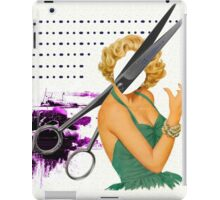 big scissors iPad Case/Skin