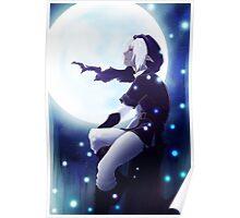 dark elf moonlight Poster