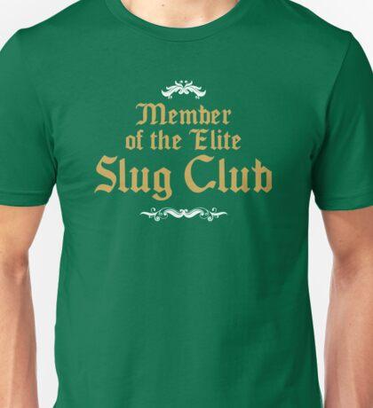 Slug Club Member logo Unisex T-Shirt