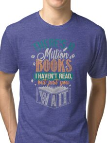 Million Books Tri-blend T-Shirt