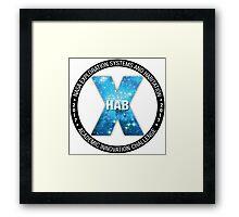 X-Hab 2017 Competition Logo Framed Print