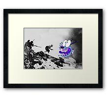 WW2 Courage Framed Print
