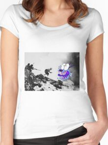 WW2 Courage Women's Fitted Scoop T-Shirt