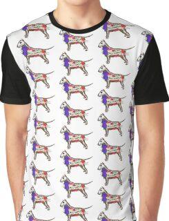 Inside the Bull Terrier Graphic T-Shirt