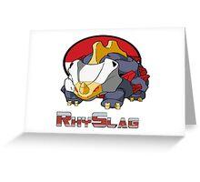 RhySlag Greeting Card