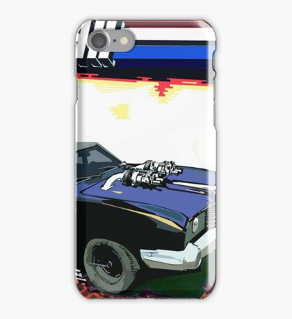 Mad Max Meets G.I. Joe iPhone Case/Skin