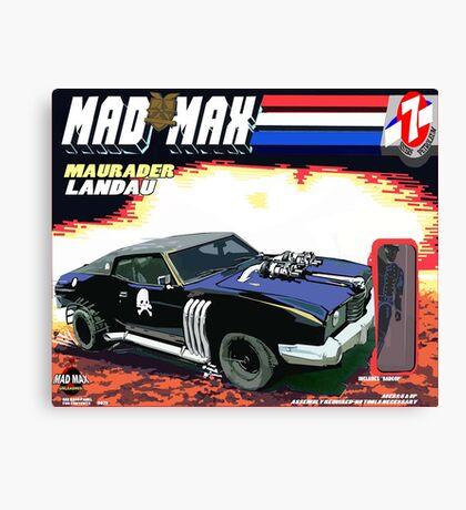 Mad Max Meets G.I. Joe Canvas Print