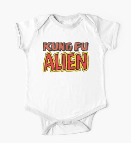 kung fu alien Kids Clothes