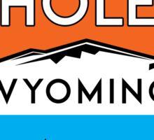 JACKSON HOLE WYOMING Mountain Skiing Ski Snowboard Snowboarding 8 Sticker