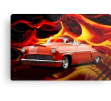 1954 Mercury Custom Hardtop 'Heat of the Night' Metal Print