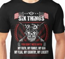 DON'T MESS WITH MILITARY MAN Unisex T-Shirt