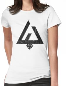 Wonderfuck - Triangle Concept Womens Fitted T-Shirt