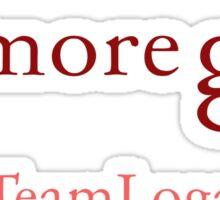 Gilmore Girls - Team Logan Sticker
