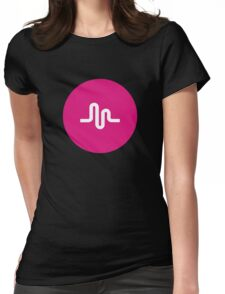 Musically Womens Fitted T-Shirt