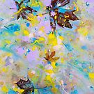 Four Maple Leaves - 6th Series by Laurie Miller