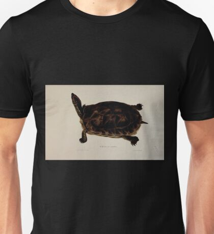 Tortoises terrapins and turtles drawn from life by James de Carle Sowerby and Edward Lear 029 Unisex T-Shirt