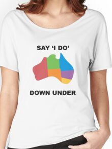 Say I Do Women's Relaxed Fit T-Shirt