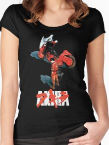 Akira - Kaneda Black Edition Women's Fitted Scoop T-Shirt