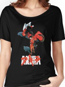 Akira - Kaneda Black Edition Women's Relaxed Fit T-Shirt