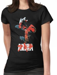 Akira - Kaneda Black Edition Womens Fitted T-Shirt