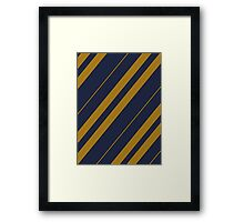 Ravenclaw Pattern - Hogwarts Houses Framed Print