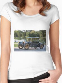 1919 Pierce-Arrow 38C Coupe II Women's Fitted Scoop T-Shirt