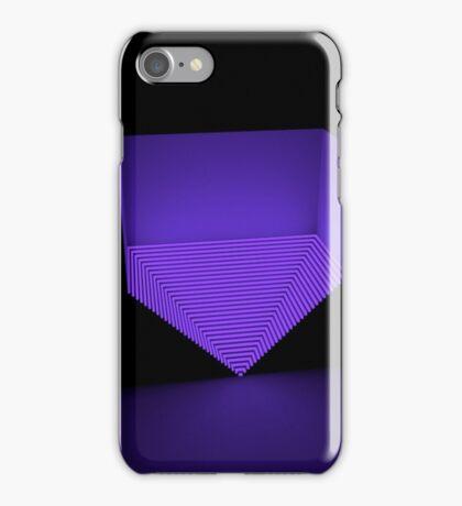 Purple pyramid  iPhone Case/Skin