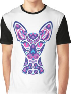 Electric Cat Graphic T-Shirt