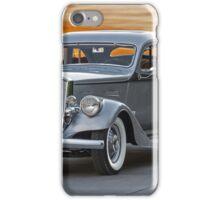 1934 Pierce Silver Arrow Coupe iPhone Case/Skin