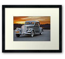1934 Pierce Silver Arrow Coupe Framed Print