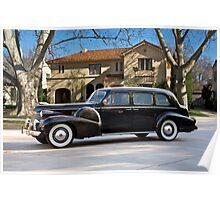 1939 Cadillac Fleetwood 7519 Sedan Poster