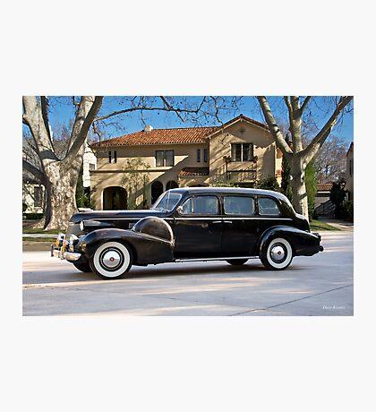 1939 Cadillac Fleetwood 7519 Sedan Photographic Print