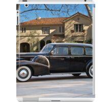 1939 Cadillac Fleetwood 7519 Sedan iPad Case/Skin
