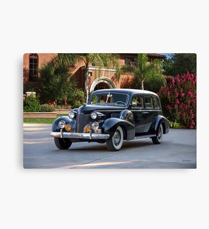 1939 Cadillac Fleetwood 7519 Sedan 'Godfather' Canvas Print