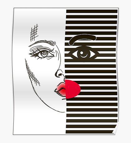 Fashion girl Poster
