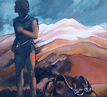 The Journey : Mt Ruapehu by Patricia Howitt