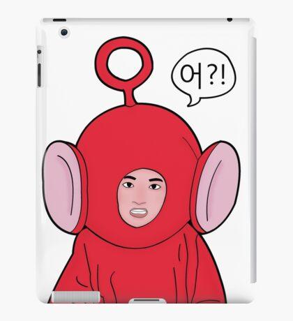 Angry Teletubby  iPad Case/Skin