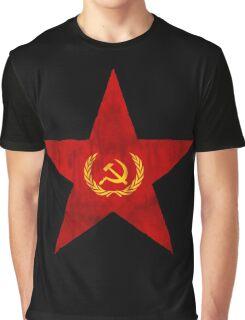 Russian star,cccp,ussr,red army,ww2,russia,russian,stalin,lenin,soviet,t34 tank Graphic T-Shirt