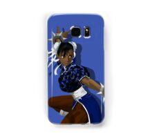 Black Chun Li Samsung Galaxy Case/Skin