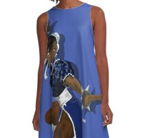 Black Chun Li A-Line Dress
