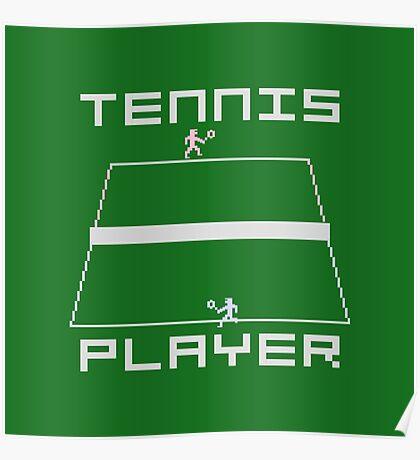 TENNIS - ATARI 2600 Poster
